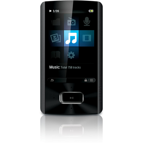 Philips GoGear SA4ARA16KF 16 GB Flash Portable Media Player
