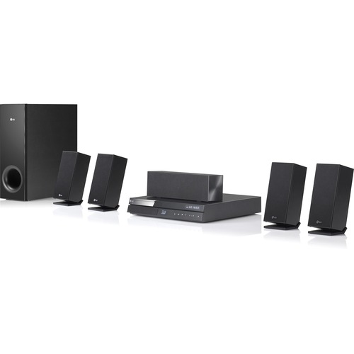 LG Electronics BH6720S 5.1 3D Home Theater System - 1000 W RMS - Blu-ray Disc Player