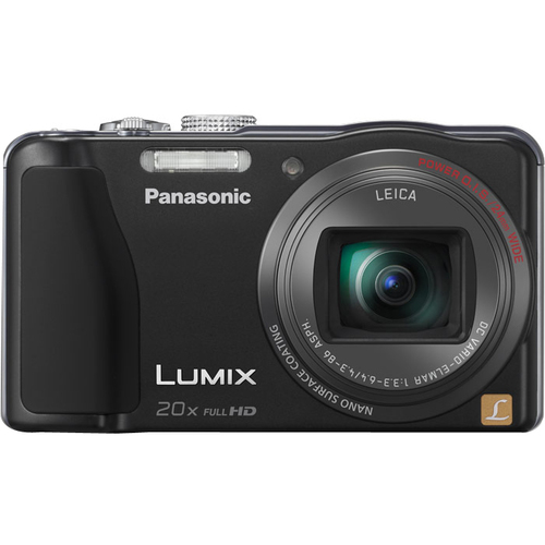 Panasonic Lumix DMC-ZS20 14.1 Megapixel Compact Camera - Black