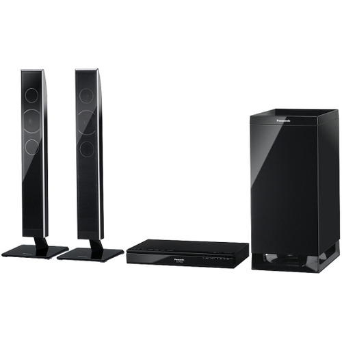 Panasonic SC-HTB550 2.1 Speaker System - 240 W RMS - Wireless Speaker(s) - Black