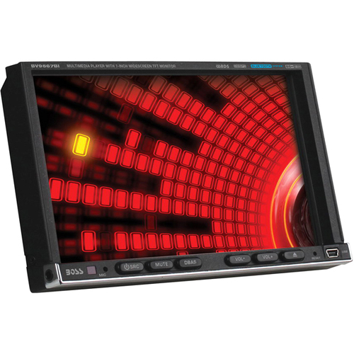 """Boss Audio BV9567BI Car DVD Player - 7"""" Touchscreen LCD Display - 800 x 480 - 340 W RMS - iPod/iPhone Compatible - In-dash -"""