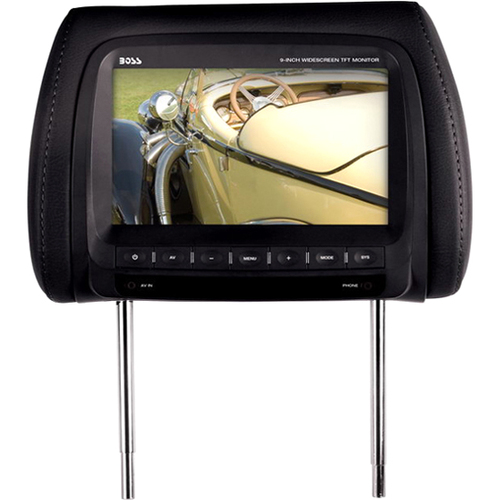 "Boss Audio HIR90B 9"" Active Matrix TFT LCD Car Display - Black"
