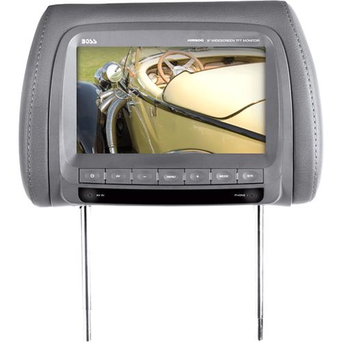"Boss Audio HIR90G 9"" Active Matrix TFT LCD Car Display - Gray"