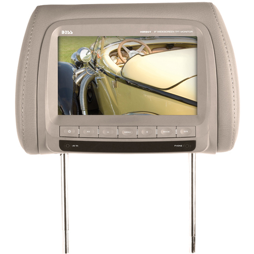 "Boss Audio HIR90T 9"" Active Matrix TFT LCD Car Display - Tan"