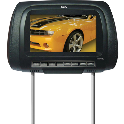 "Boss Audio HIR70BL 7"" Active Matrix TFT LCD Car Display - Black"