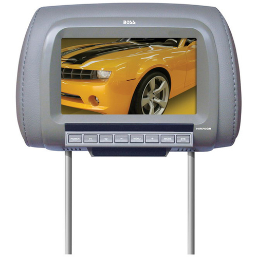 "Boss Audio HIR70GR 7"" Active Matrix TFT LCD Car Display - Gray"