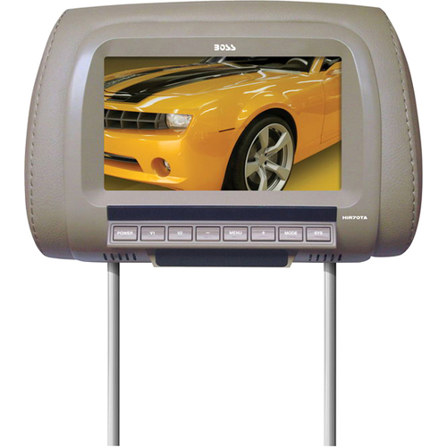 "Boss Audio HIR70TA 7"" Active Matrix TFT LCD Car Display - Tan"