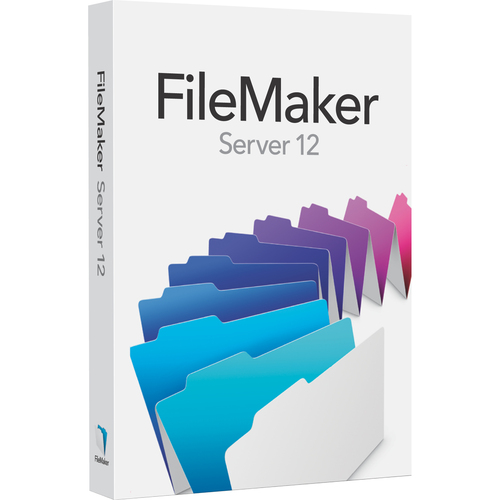 Filemaker Inc. v.12.0 Server - Complete Product - 1 Server