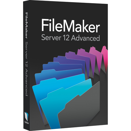 Filemaker Inc. v.12.0 Server Advanced - Complete Product - 1 Server