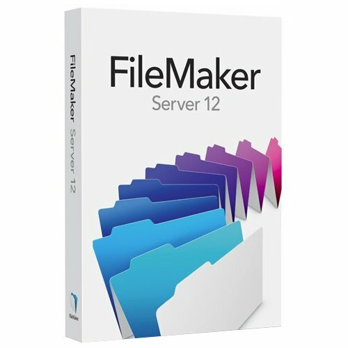 Filemaker Inc. v.12.0 Server - Complete Product - 1 Server