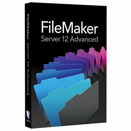 Filemaker Inc. v.12.0 Server Advanced - Complete Product - 1 Server