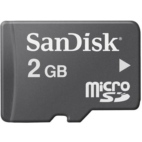 Sandisk SDSDQM-002G-B35 2 GB microSD - 1 Card