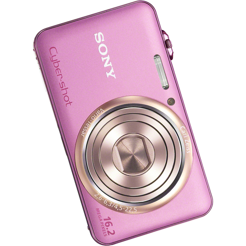 Sony Cyber-shot DSC-WX70/P 16.2 Megapixel Compact Camera - Pink