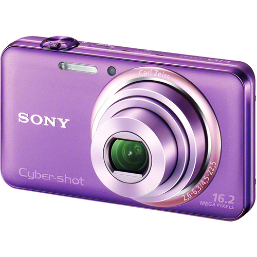Sony Cyber-shot DSC-WX70 16.2 Megapixel Compact Camera - Violet
