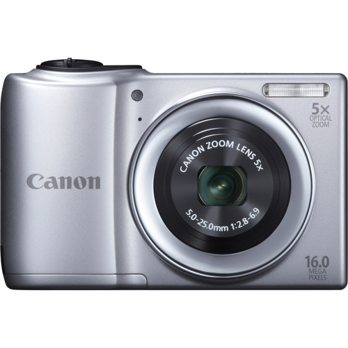 Canon PowerShot A810 16 Megapixel Compact Camera - Silver