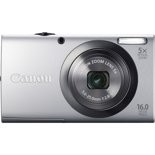 Canon PowerShot A2300 16 Megapixel Compact Camera - Silver