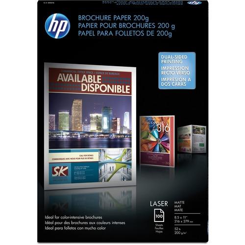 Hp Laser Print Brochure Flyer Paper Hewq8824a