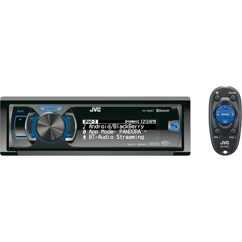 JVC Regular KD-X80BT Car CD/MP3 Player - 80 W RMS - iPod/iPhone Compatible