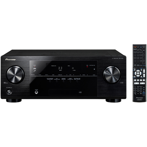 Pioneer VSX-822-K 3D Ready A/V Receiver - 5.1 Channel - Black