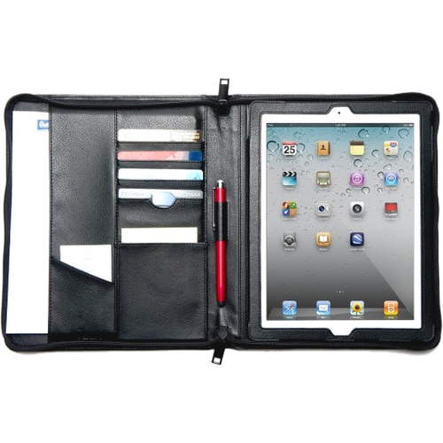iLuv Business iCC839BLK Carrying Case (Folio) for iPad - Black