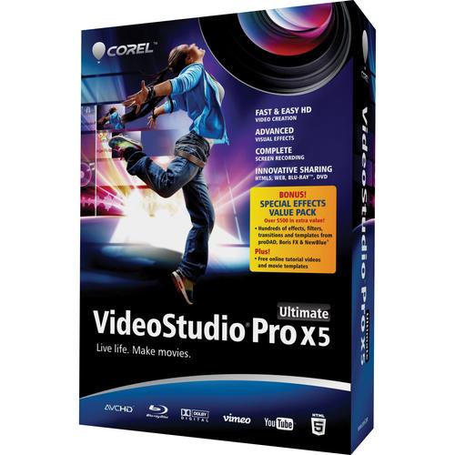 Corel VSPRX5ULENMBAM VideoStudio Pro v.X5 Ultimate - Complete Product