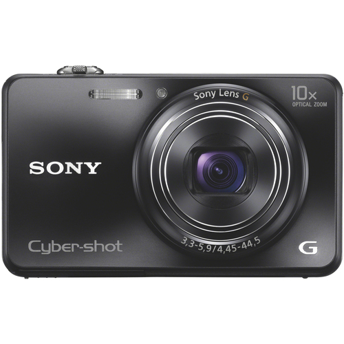 Sony Cyber-shot DSC-WX150 18.2 Megapixel 3D Panorama Compact Camera - Black