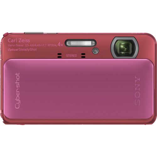 Sony Cyber-shot DSC-TX20 16.2 Megapixel 3D Panorama Compact Camera - Pink