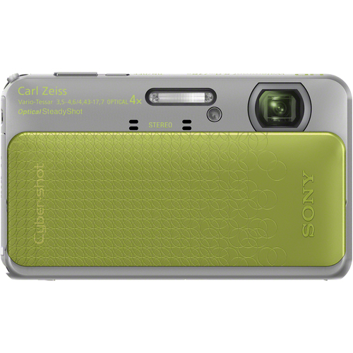 Sony Cyber-shot DSC-TX20 16.2 Megapixel 3D Panorama Compact Camera - Green