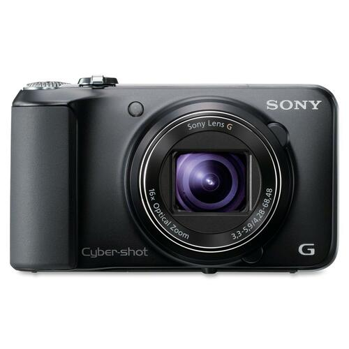 Sony Cyber-shot DSC-HX10V/B 18.2 Megapixel 3D Panorama Compact Camera - Black