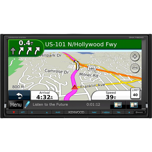 Kenwood DNX7190HD Automobile Audio/Video GPS Navigation System