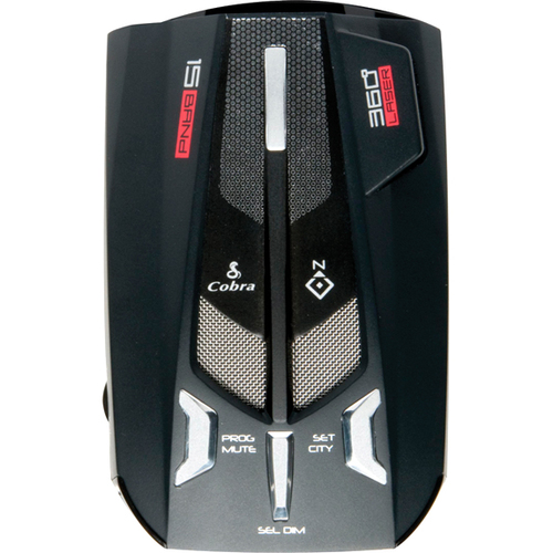 Cobra XRS 9770 Ultra Performance Digital Radar/Laser Detector with DigiView Text Display, Compass, & Voice Alert