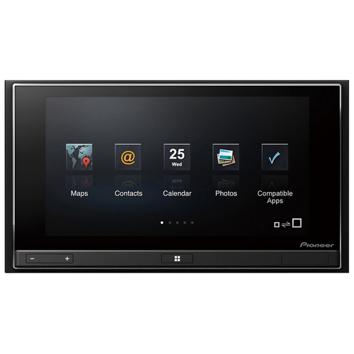 "Pioneer AppRadio SPH-DA02 Car Flash Video Player - 6.1"" Touchscreen LCD Display - 800 x 480 - 200 W RMS - iPod/iPhone Compatible"