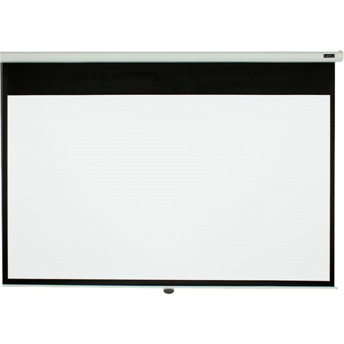 ELUNEVISION 96X96IN MANUAL PROJECTION SCREEN