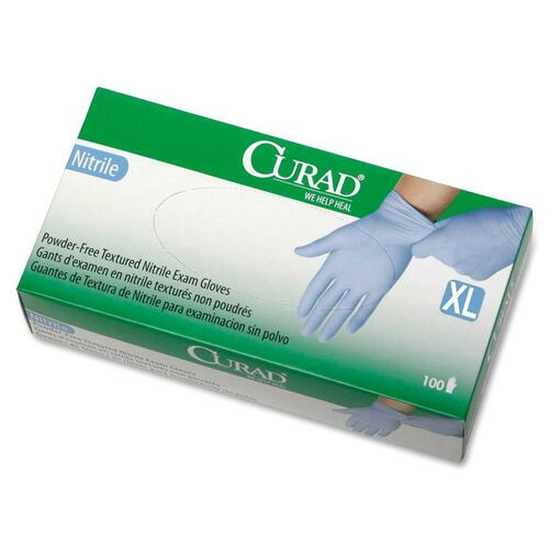Medline Powder-Free Latex-Free Nitrile Exam Gloves