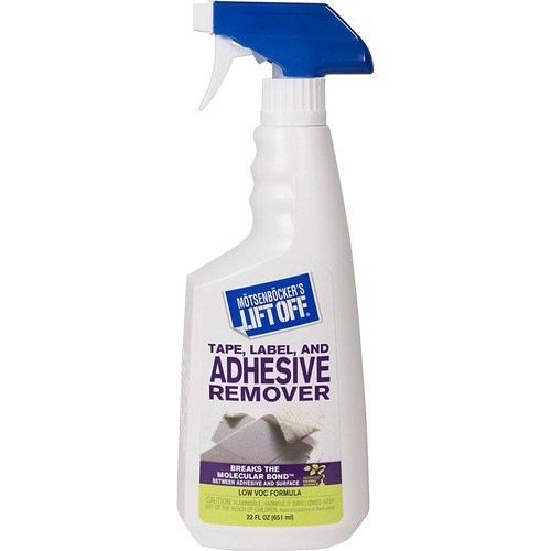 Motsenbocker's lift-off - no. 2 adhesive/grease stain remover, 22 oz. trigger spray, sold as 1 ea