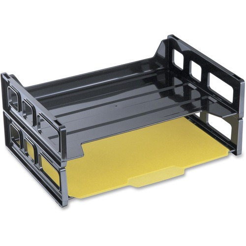 OIC Recycled Plastic Side Load Letter Tray