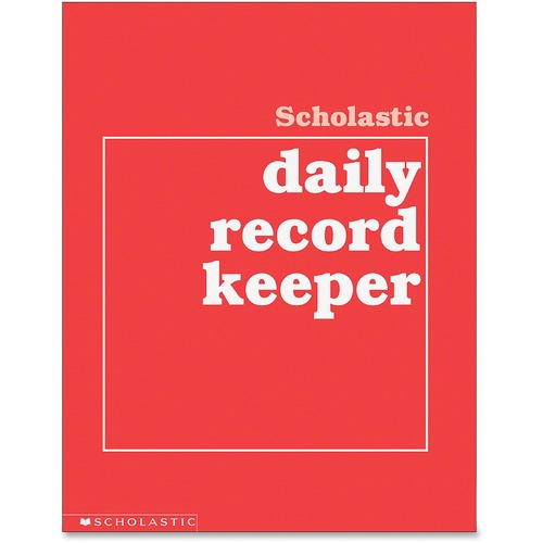 Scholastic Res. Grades K-6 Daily Record Keeper  | by Plexsupply