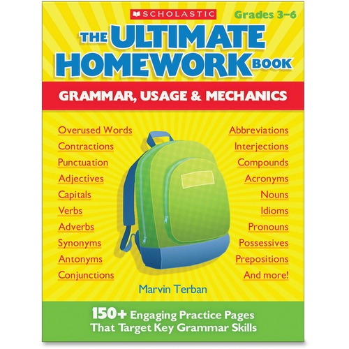 Scholastic The Ultimate Homework Book: Grammar Usage & Mechanics Education Printed Book - English