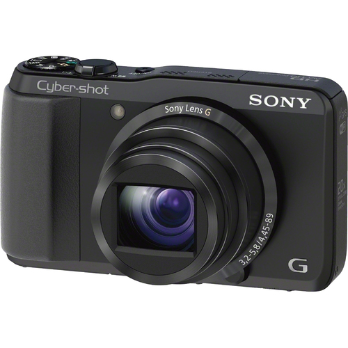 Sony Cyber-shot DSC-HX30V 18.2 Megapixel 3D Panorama Compact Camera - Black