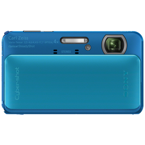 Sony Cyber-shot DSC-TX20 16.2 Megapixel 3D Panorama Compact Camera - Blue