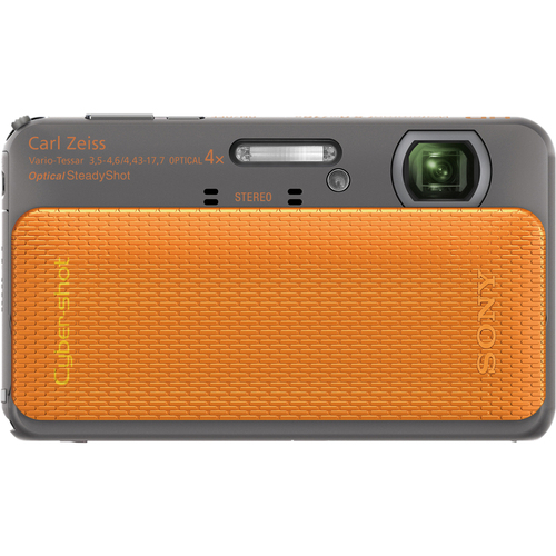 Sony Cyber-shot DSC-TX20 16.2 Megapixel 3D Panorama Compact Camera - Orange