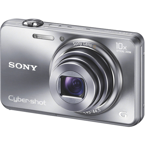 Sony Cyber-shot DSC-WX150 18.2 Megapixel 3D Panorama Compact Camera - Silver
