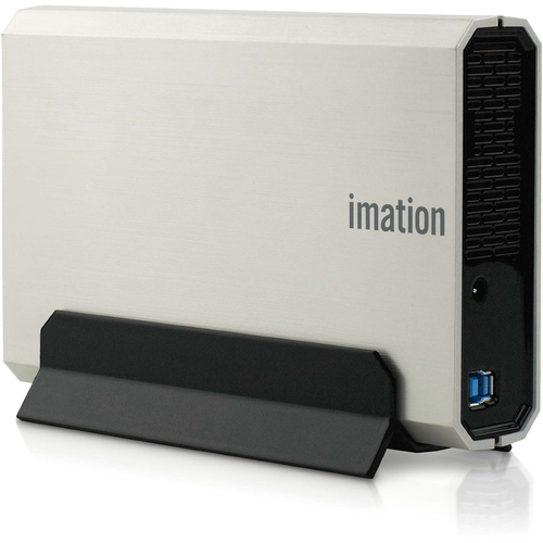 "Imation Apollo Expert D300 2 TB 3.5"" External Hard Drive - Silver"