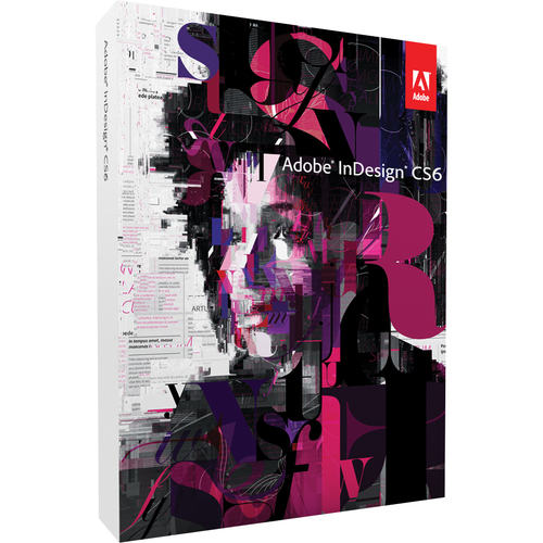Adobe Systems InDesign CS6 v.8.0 - Complete Product - 1 User