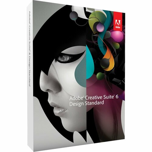 Adobe Creative Suite v.6.0 (CS6) Design Standard (Student & Teacher Edition) - Complete Product - 1 User