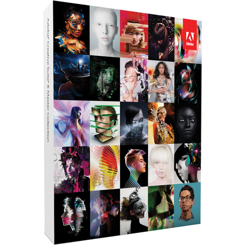 Adobe Creative Suite v.6.0 (CS6) Master Collection (Student & Teacher Edition) - Complete Product - 1 User