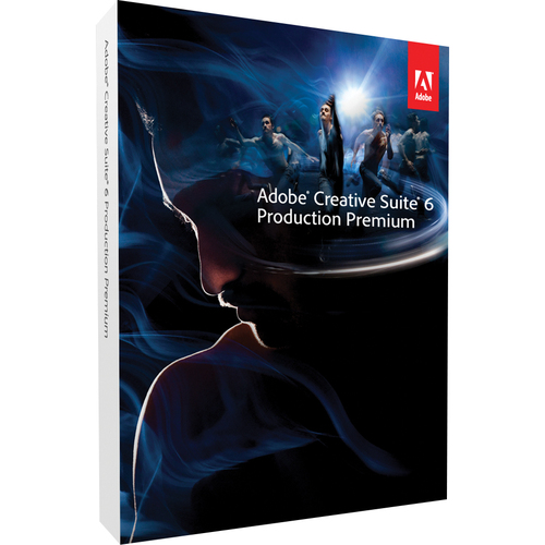 Adobe Systems Creative Suite v.6.0 (CS6) Production Premium (Student & Teacher Edition) 64-bit - Complete Product - 1 User