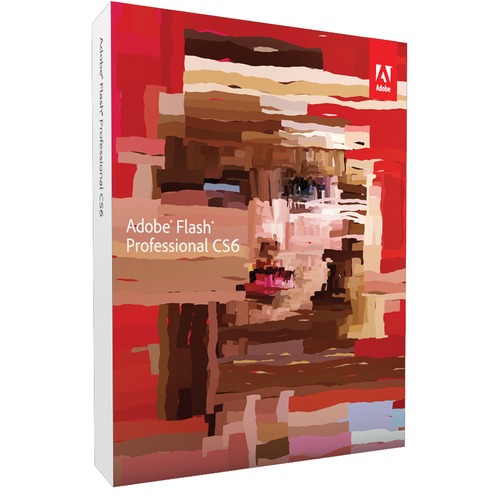 Adobe Systems Flash CS6 v.12.0 Professional (Student and Teacher Edition) - Complete Product - 1 User