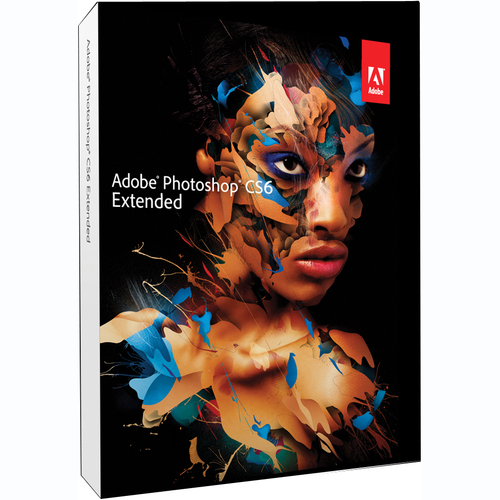 Adobe Systems Photoshop CS6 v.13.0 Extended (Student & Teacher Edition) - Complete Product - 1 User