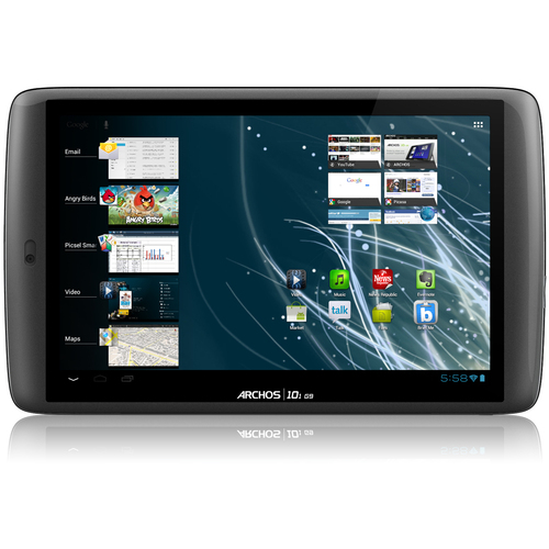 "Archos 101 G9 Turbo 502058 10.1"" Tablet Computer - Wi-Fi - Texas Instruments OMAP 4 1.50 GHz"